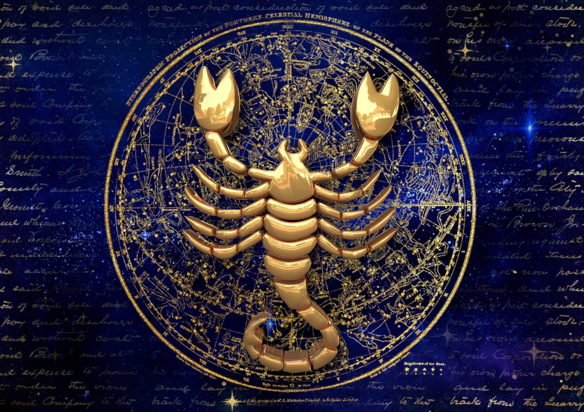 даже совсем красивая картинка скорпиона знака зодиака очень эффектный